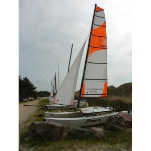 Mainsail for land yacht – 3m2
