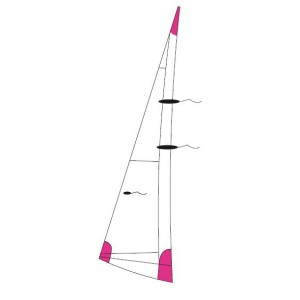 Mainsail for Dart 18 in NX5